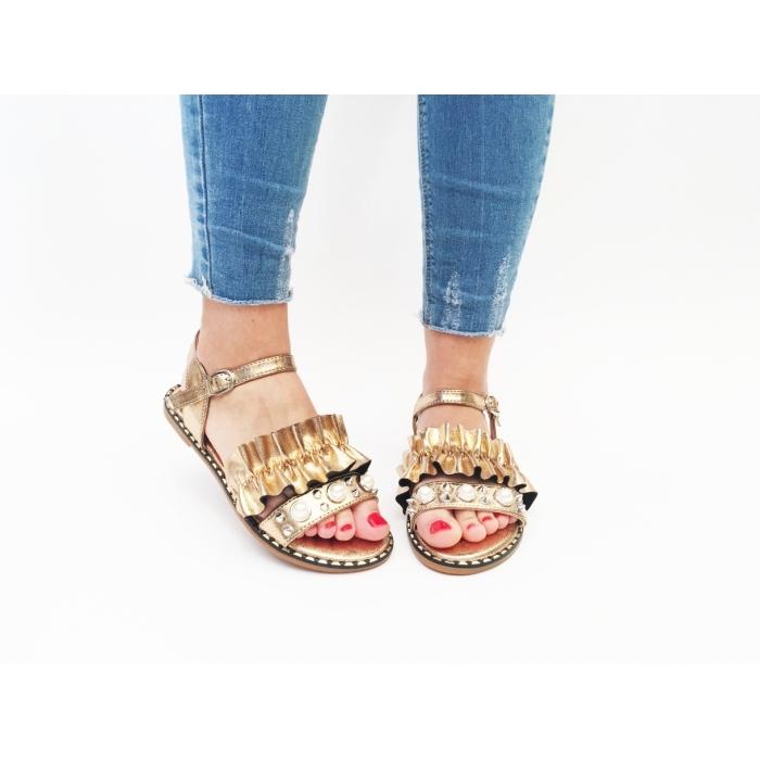 Sandale Vergana Gold